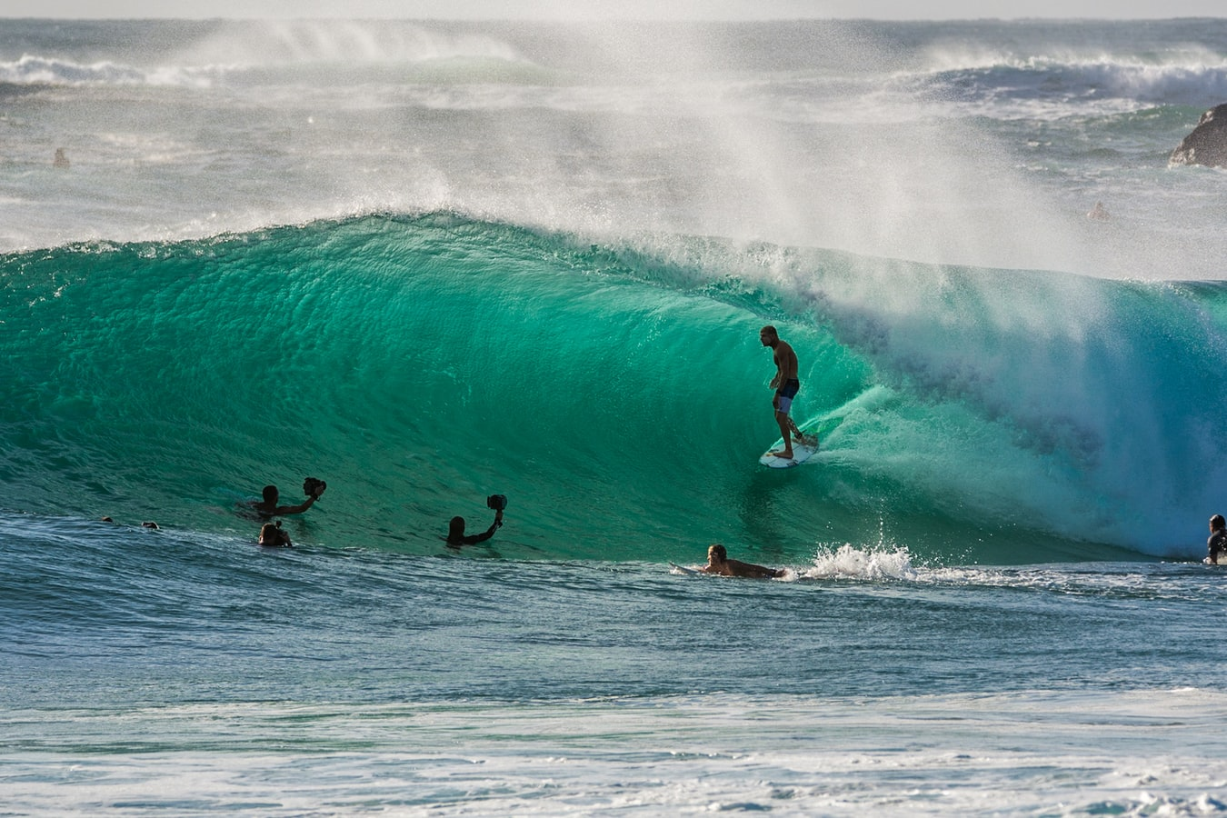 The green room, barrel, or tube