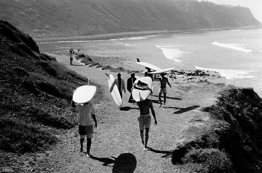History of the Surf Leash